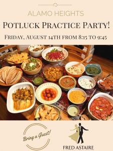 POTLUCK PRACTICE PARTY!
