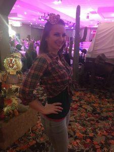 Timeka at a Ballroom Dance Competition