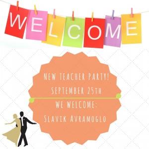 NEW TEACHER PARTY!