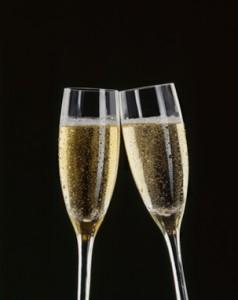 champagine glasses