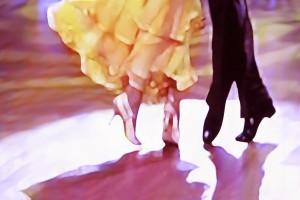 Ballroom dance floor abstract 5465