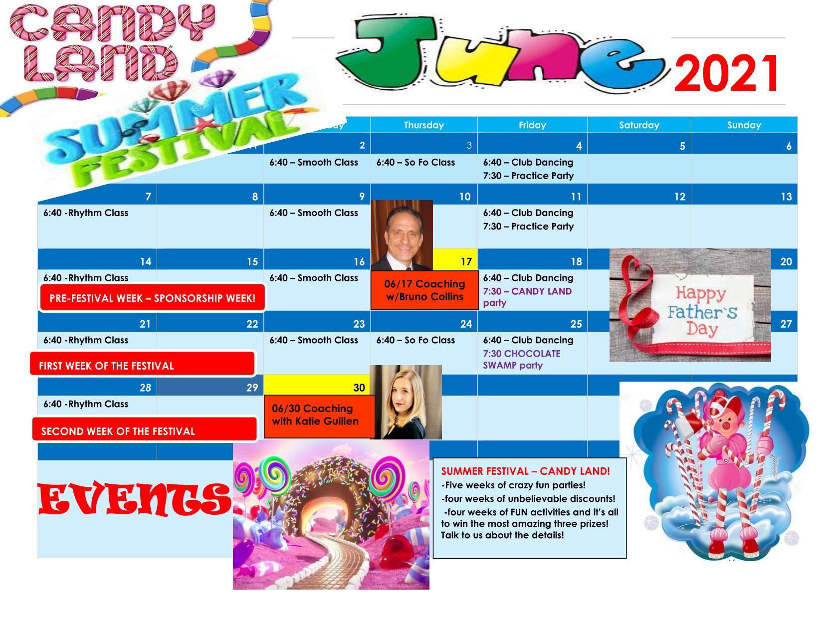Download our June 2021 Dancing Calendar here!