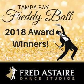 Tampa Bay Freddy Ball: Ballroom Award Winners