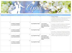 April Events!