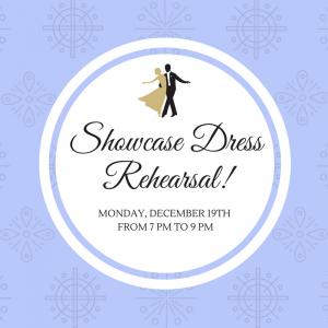 Manhasset Studio Showcase Dress Rehearsal