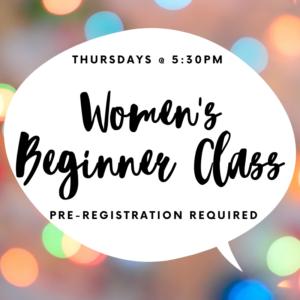Women's Ballroom Beginner Class