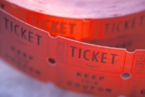 Ticket raffle