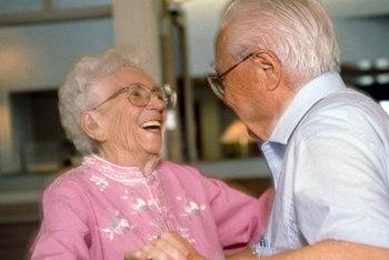 elderly dancing senior citizens