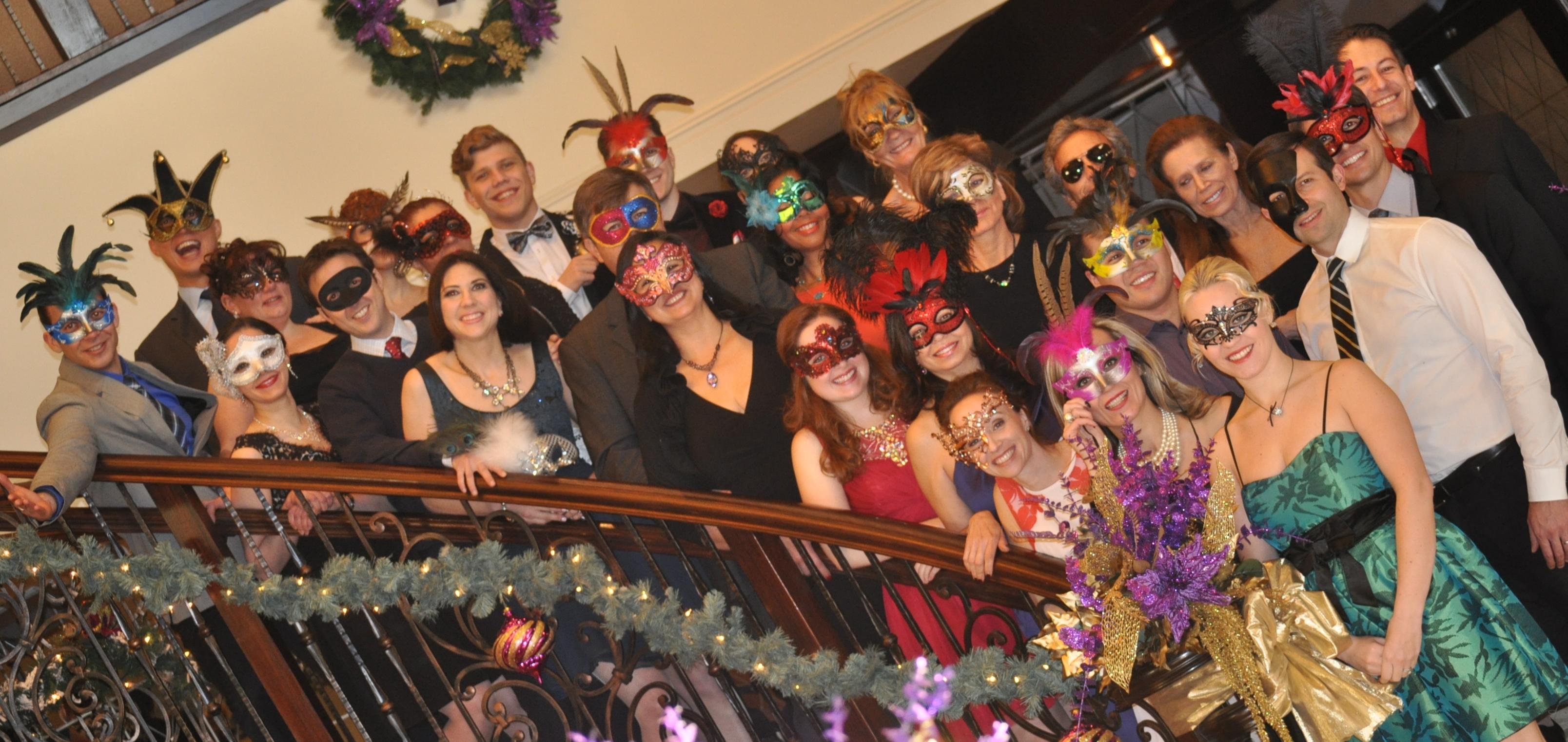Masquerade Ball group
