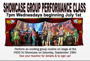Showcase Performance Class