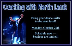Martin Lamb coaching October