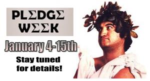 Pledge week