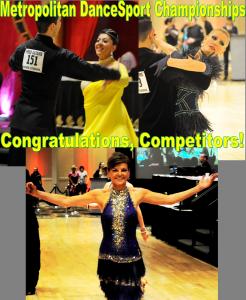 congratulations competitors 2016 metropolitan competition
