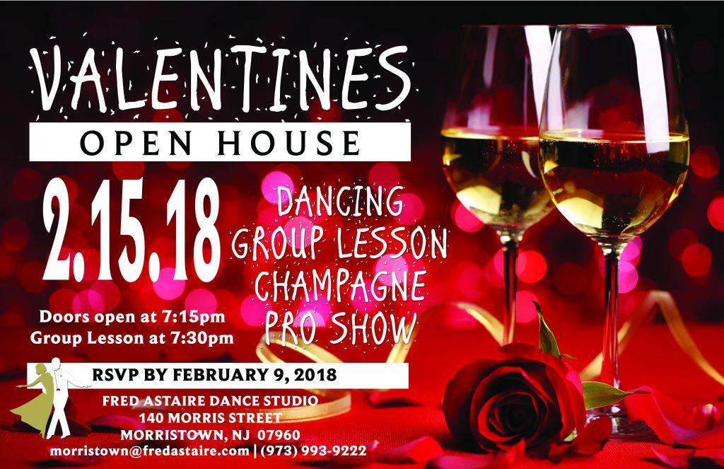 valentine's open house