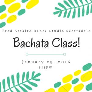 scottsdale bachata classes