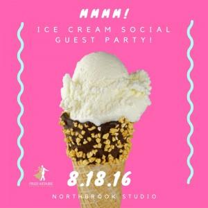 Northbrook studio - ice cream social