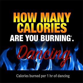 Calories Burned Dancing
