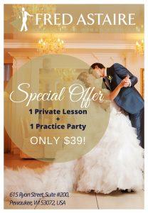 Pewaukee Wedding dance lessons