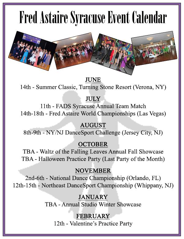 Syracuse Calendar.Yearly Event Calendar Syracuse