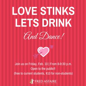 LOVE STINKSLET DRINk!